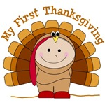 First Thanksgiving T-Shirts and Buttons