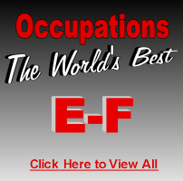 The World's Best Occupations E-F