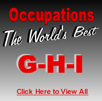 The World's Best Occupations G-H-I