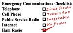 Emergency Communications Checklist: