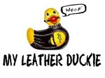 my leather duckie