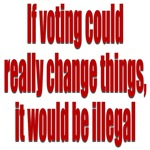 If voting could change things
