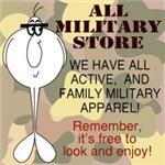 Military Relative T-Shirts, Mugs, Sweat Shirts