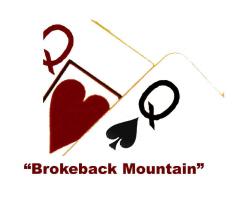 """""""Brokeback Mountain"""" Poker Shirts."""