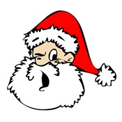 Santa Wink