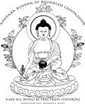 Medicine Buddha BW