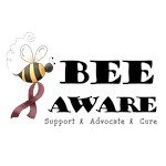 Bee Aware - Burgundy