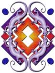 Purple Gecko Ring