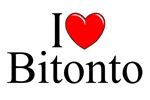 I Love (Heart) Bitonto, Italy