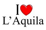 I Love (Heart) L'Aquila, Italy