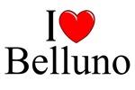 I Love (Heart) Belluno, Italy