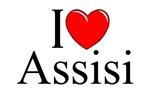 I Love (Heart) Assisi, Italy