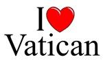 I Love (Heart) Vatican, Italy