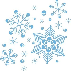 Skull Snowflakes