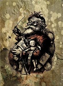 Grungy Santa
