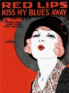 Red Lips Kiss My Blues