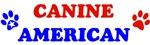 Canine American T-shirts