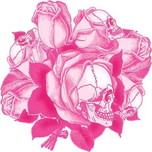 Pink Skull Roses