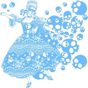 Blue Skull Dancer