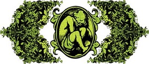Weeping Cherub Green