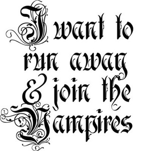 Run Awar And Join The Vampires