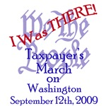 I Was THERE! 9/12 March on Washington DC (front/ba
