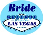 Blue Las Vegas Wedding