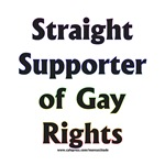 Straight Supporter of Gay Rights