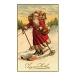 Skiing Santa - Joyeux Noel