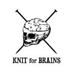 Knit for Brains - Brains Skull