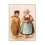 Dutch Children - Knitting