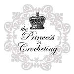 The Princess is Crocheting