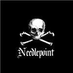 Needlepoint - Skull and Crossbones