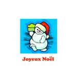 Joyeux Noel - Happy Snowman