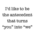 Antecedent lover