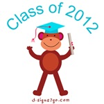 2012 Monkey Graduation Gifts