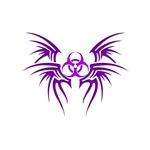 Biohazard Tribal Tattoo