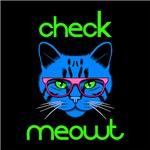 Check Meowt Blue