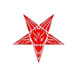 Red Baphomet Pentagram