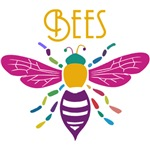 Colourful Honeybee