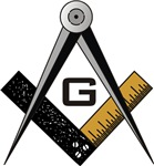 Masonic Square and Compass #13