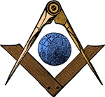 Masonic Square and Compass #55