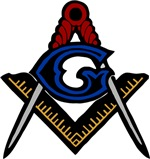 Masonic Square and Compass #48
