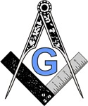 Masonic Square and Compass #25