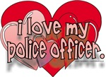 I LOVE MY OFFICER/CORRECTIONS/SHERIFF/TROOPER/FIRE