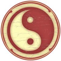 Yin-Yang -Old Ivory
