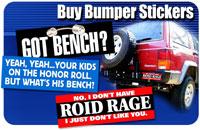 BODYBUILDING Bumper Stickers