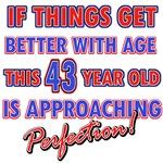 Funny 43rd Birthday designs