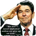 Reagan - We Are Never Defeated...