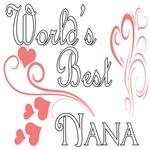 Best  Nana (Pink Hearts)